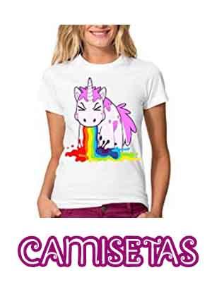 Camisetas Con Unicornios Para Mujer Niña Y Hombre 2018