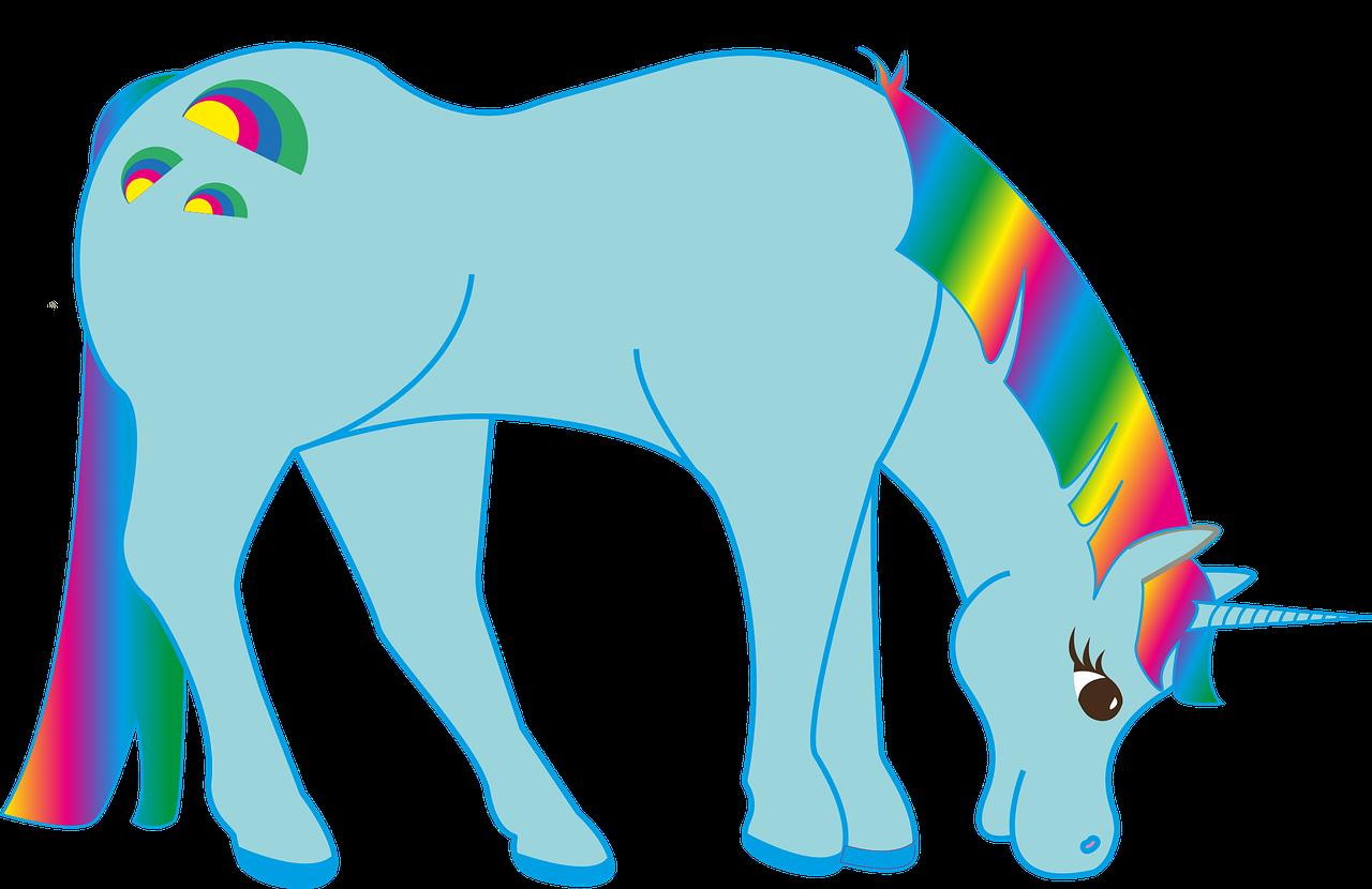 Imagenes De Unicornios Infantiles: Imágenes De Unicornios Animados🦄, Listas Para Imprimir