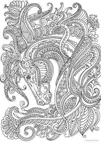 Mandalas De Unicornios Kawaii Para Imprimir Y Colorear